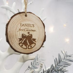 Christmas Bell Hanging Decoration