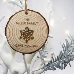 Christmas Snowflake Hanging Decoration