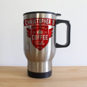 Coffee With a Touch of Vodka Travel Mug