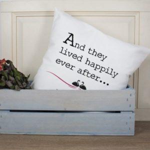Fairytale Couple Cushion Cover