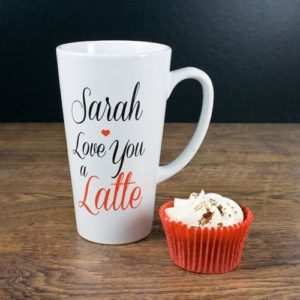 I Love You A Latte Latte Mug