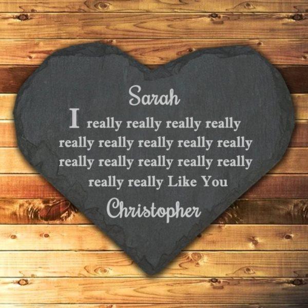 I Really Really Really... Like You Heart Keepsake