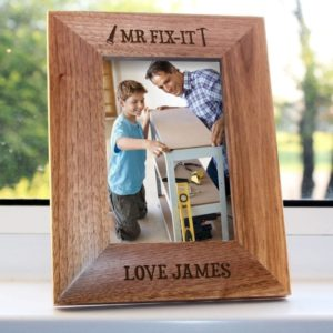 Mr.Fix-it Engraved Photo Frame