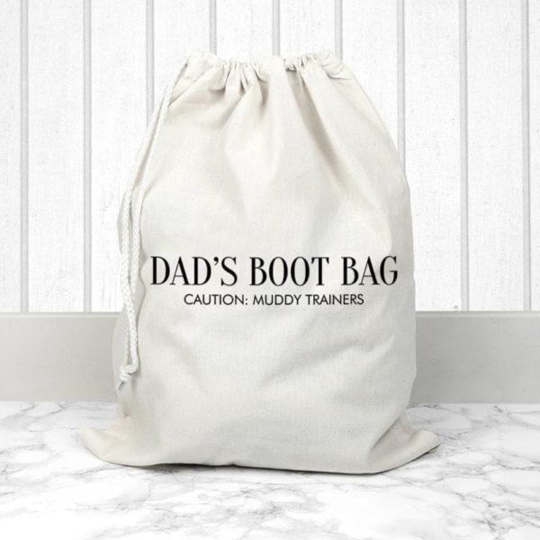 Personalised Cream Boot Bag