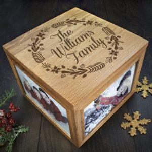 Personalised Family's Christmas Memory Box