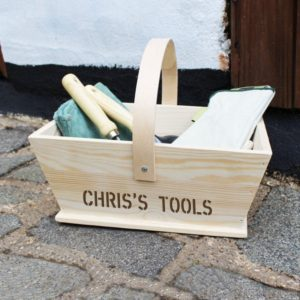 Personalised Gardeners Trug