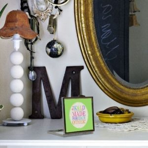 Personalised Made for Each Other Compact Mirror