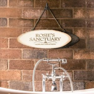 Personalised My Sanctuary Wooden Sign