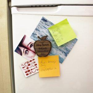 Personalised Teacher's Apple Shaped Fridge Magnet
