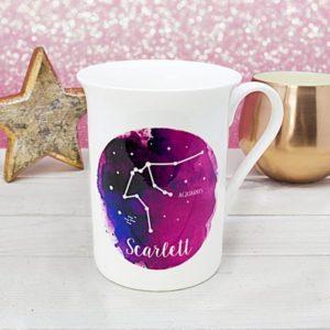 Watercolour Star Constellation Mug