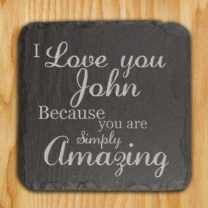 You are Simply Amazing Slate Keepsake