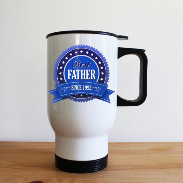 Best Father Since Travel Mug