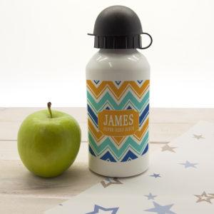 Boys Super Hero Juice Personalised Water Bottle