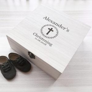 Christening Memory Box
