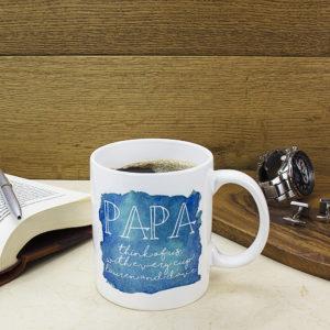Coastal Watercolour Personalised Mug