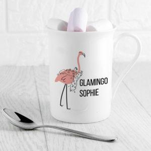 Glamingo Bone China Mug