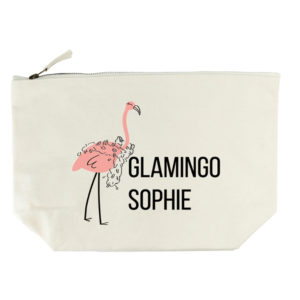 Glamingo Cream Wash Bag