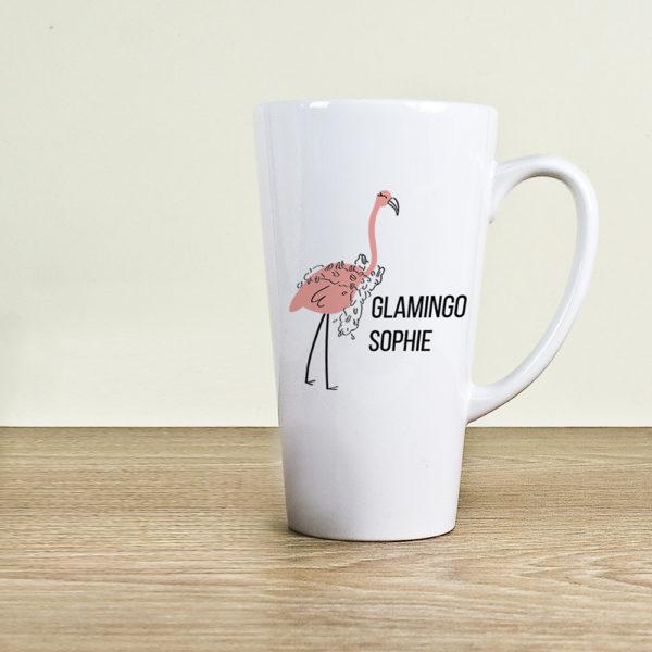 Glamingo Latte Mug