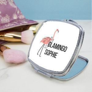 Glamingo Square Compact Mirror