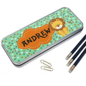 Happy Lion Pencil Case