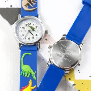 Kids Personalised Dinosaur Watch