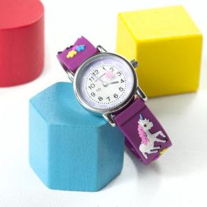 Kids Personalised Unicorn Watch