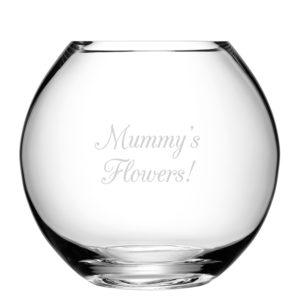 LSA Personalised Round Vase