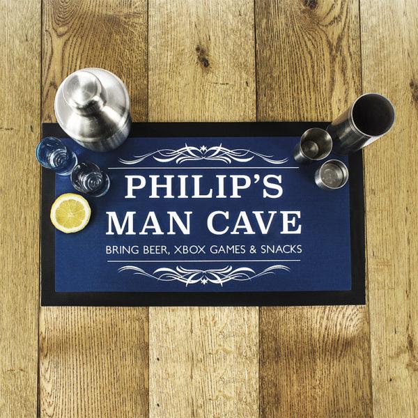 Gentlemen's Man Cave Bar Mat