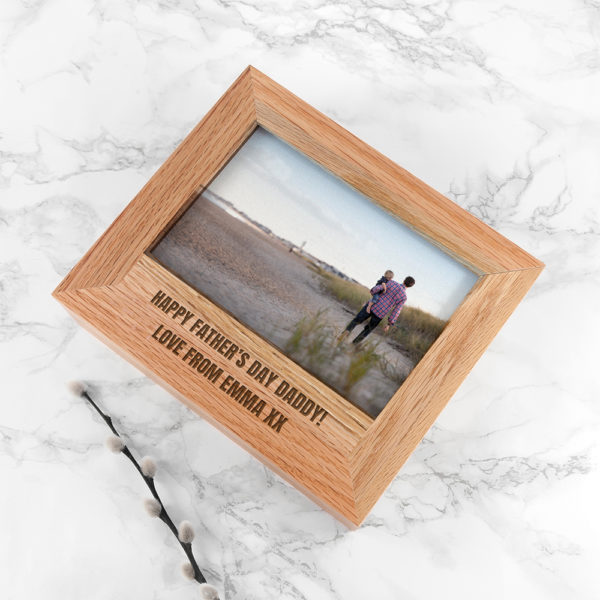 Personalised Father's Day Photo Box