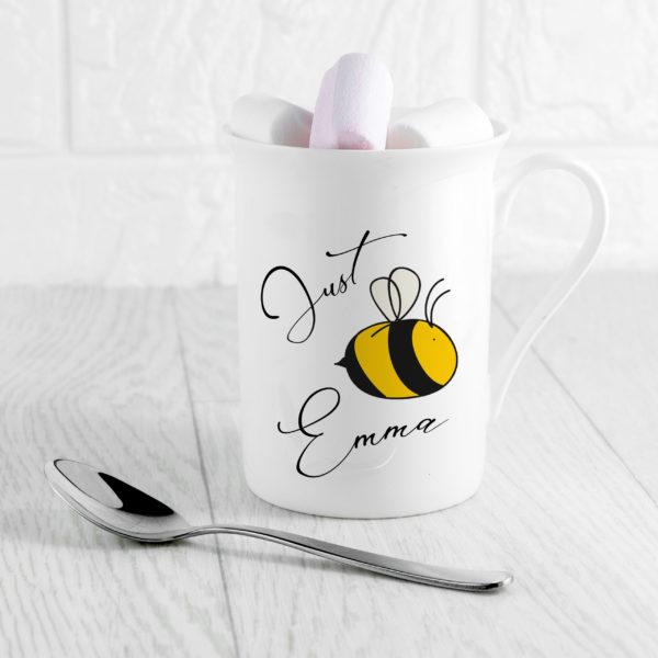 Bee You Bone China Mug