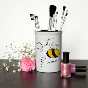 Bee You Brush Holder