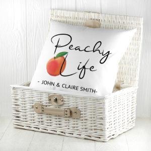 Peachy Life Cushion Cover