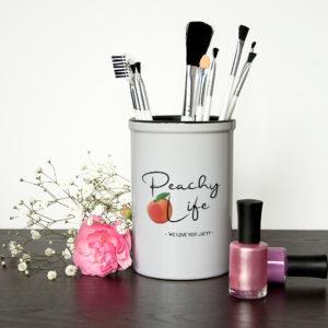 Peachy Life Brush Holder