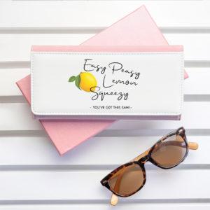 Easy Peasy Lemon Squeezy Pink Wallet