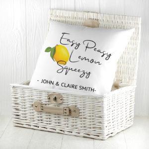 Easy Peasy Lemon Squeezy Cushion Cover