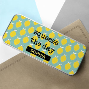 Squeeze The Day Pencil Case