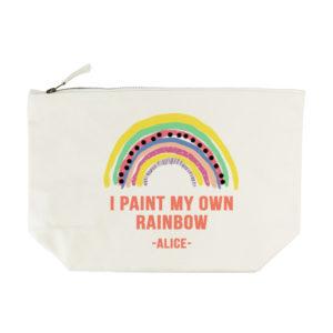My Own Rainbow Wash Bag