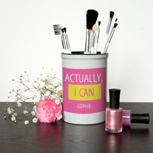 Actually I Can Brush Holder