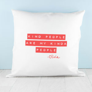 Kind People (Red) Cushion Cover
