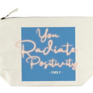 Radiate Positivity Wash Bag