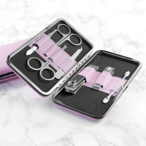 Personalised Bridal Party Manicure Set - Pink