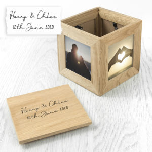 Personalised Handwriting Photo Cube