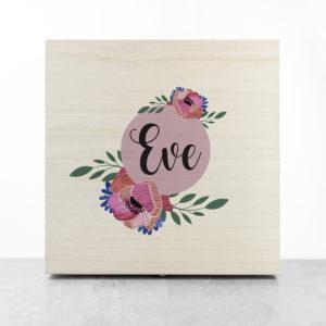 Personalised Blooming Flower Bridesmaid Box