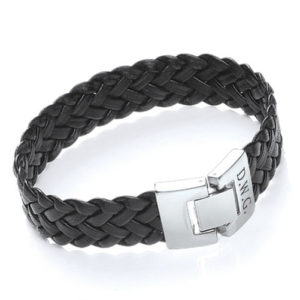 Personalised Soft Leather Bracelet