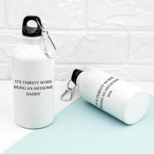 Personalised Daddy & Me Water Bottles