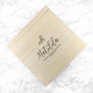 Personalised Elegant Wedding Box