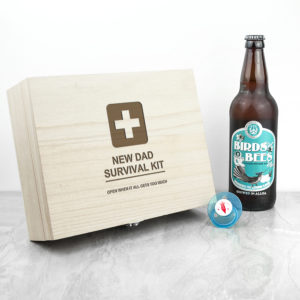Personalised Emergency New Dad Kit