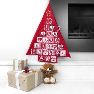 Personalised Festive Hanging Advent Calendar