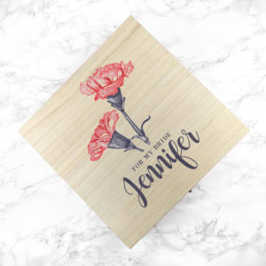 Personalised For My Bride on Our Wedding Day Box