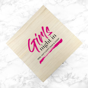 Personalised Girls' Night In Box